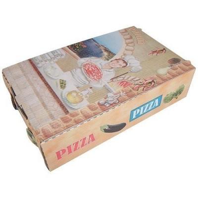 Boîte pizza pour calzone
