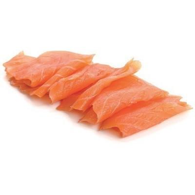 Chutes de saumon fumé