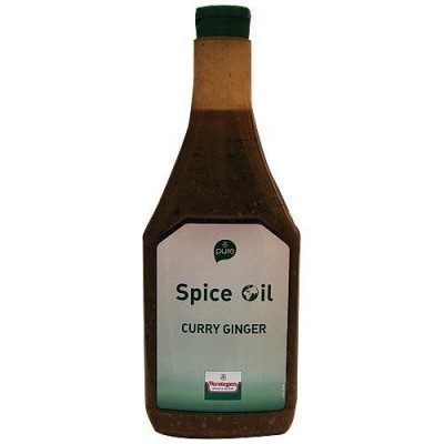 Spice oil curry ginger
