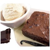 Brownie, chocolat noix de pécan