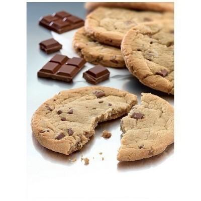 Cookie chunks chocolat au lait et noir belge 76 g