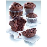 Muffin double chocolat