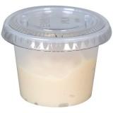 Pot à sauce translucide 3 cl