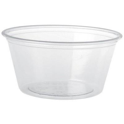 Pot à sauce translucide 6 cl