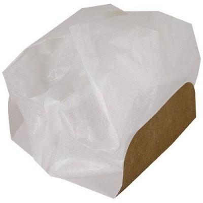 Fond carton hamburger