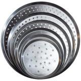Moule à pizza perforé diamètre 50 cm