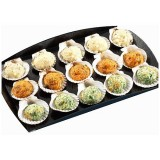 Assortiment de mini coquilles st Jacques