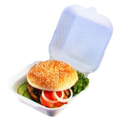 Boite hamburger blanche
