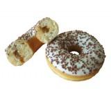 Donut fourre au caramel