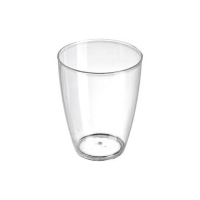 VERRINE 5TH AVENUE EN PLASTIQUE TRANSPARENT 7CL