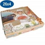 Boîtes pizza 26 cm supérieur