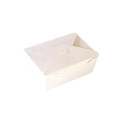 Boite carton en Kraft blanc 1650 ml