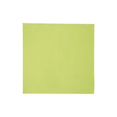 Serviette double point vert anis