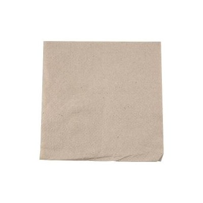 Serviette ouate kraft brun 1 pli (30X30)