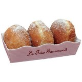 Trio beignets assortiment pomme, chocolat , nature