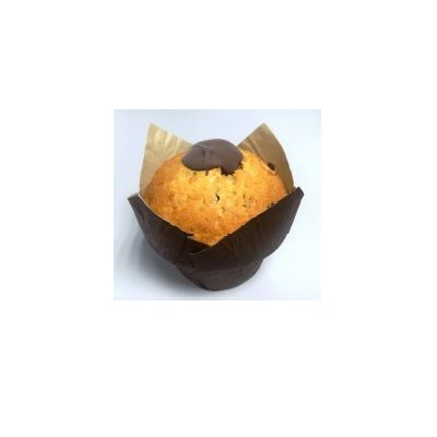 MUFFIN NATURE PEPITES DE CHOCOLAT FOURRES CHOCOLAT NOISETTES 130G