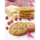 Cookie chocolat blanc et framboises 76 g