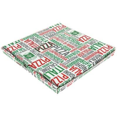 BOITE PIZZA ECO 33 CM PPT H3-PAR 100 UNITES