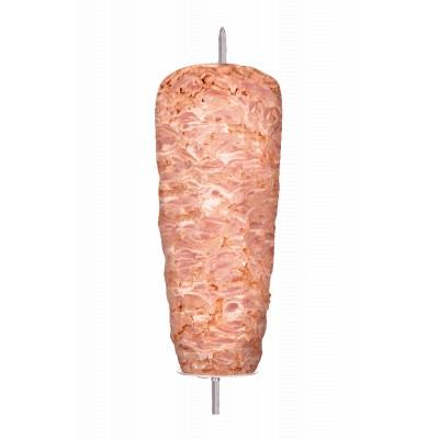 Broche Doner Kebab au poulet 30 kg