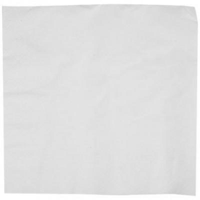 Serviette en ouate blanche 2 plis 40 cm