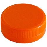 Bouchon orange pour bouteille plastique