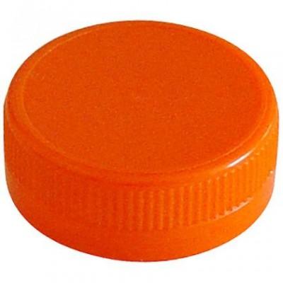 bouchon orange pour bouteille plastique distram sas. Black Bedroom Furniture Sets. Home Design Ideas