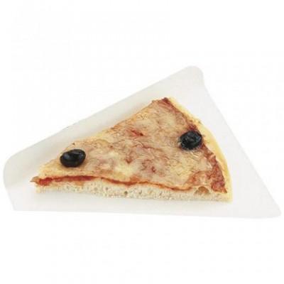 Triangle en carton  pour part de pizza