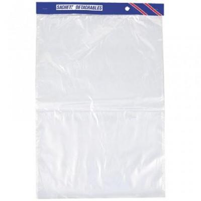 Sac liasse en plastique  haute densité 23 X 31 cm