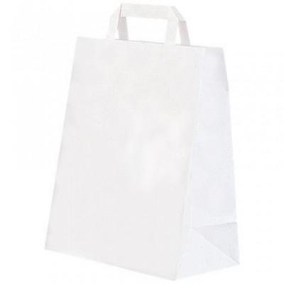 Sac cabas blanc 20 X 10 X 30 cm