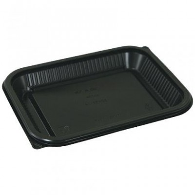 Barquette plastique noire  450 g
