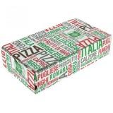 Boite Pizza spéciale Calzone 8 X 17 X 7 cm