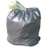 Rouleau de 10 sacs gris pour poubelle 110 l
