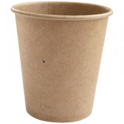 Gobelet en carton kraft brun 10 cl