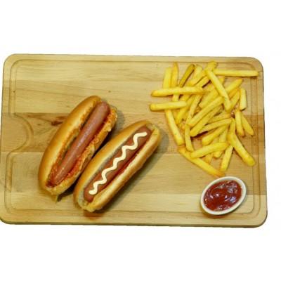 Saucisse Hot Dog Fumée 50 gr