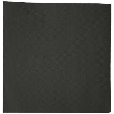 Serviette en ouate noire 38 X 38 cm 2 plis
