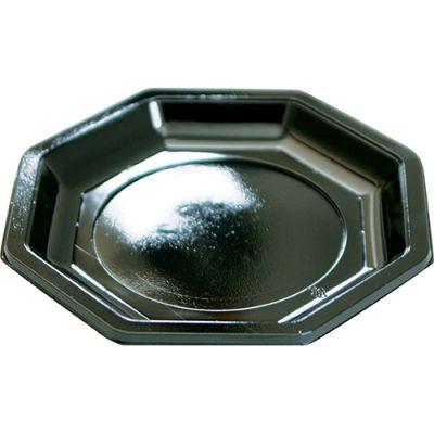 ASSIETTE OCTO 18.5CM NOIR (X50)