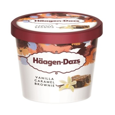 Vanilla Caramel Brownie