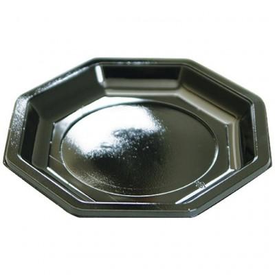 Assiette octogonale