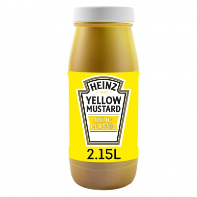 Sauce Yellow Mustard classic bidon de 2.15 litre