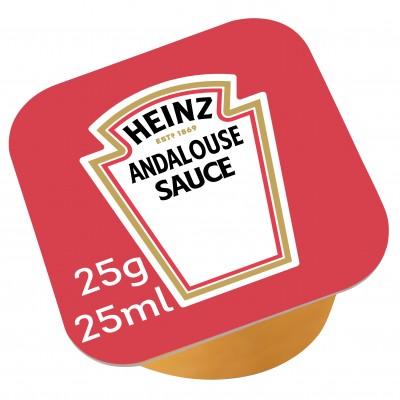 Sauce andalouse coupelle heinz