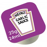 Sauce garlic coupelle 25g