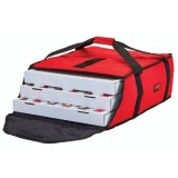 Sac a pizza rouge 44.5 X 51 X 19