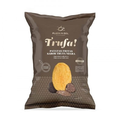 Chips à la truffe noir