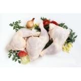 Cuisse de poulet + dos cru nature 300/350gr halal 5kg surgelés