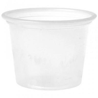Mini pot plastique 3 cl PS