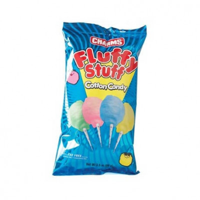 BARBE A PAPA FLUFFY STUFF COTTON CANDY  71G