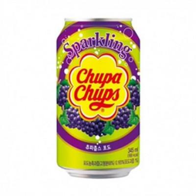 SODA CHUPA CHUPS GRAPE 24*345ML