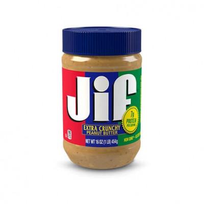 Beurre de cacahuete jif crunchy