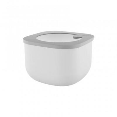 Boîte Bento réutilisable grise 1550ml