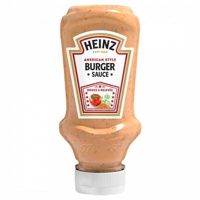 Classic burger sauce flacon 220ml heinz ambiant